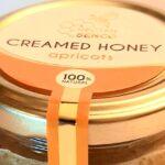 Creamed honey with aprocots Nectar Senco